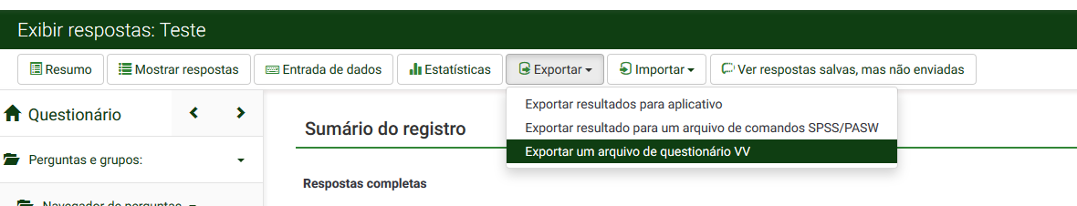 Área de Download